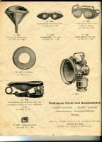 Plüss Prospekt ca. 20er Jahre