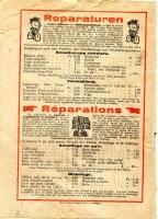 Bühler Katalog 1910er Jahre