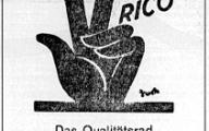 Rico Werbung 1953