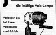 Werbung aus der NZZ von 1935