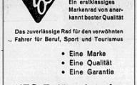 Werbung aus der NZZ von 1953